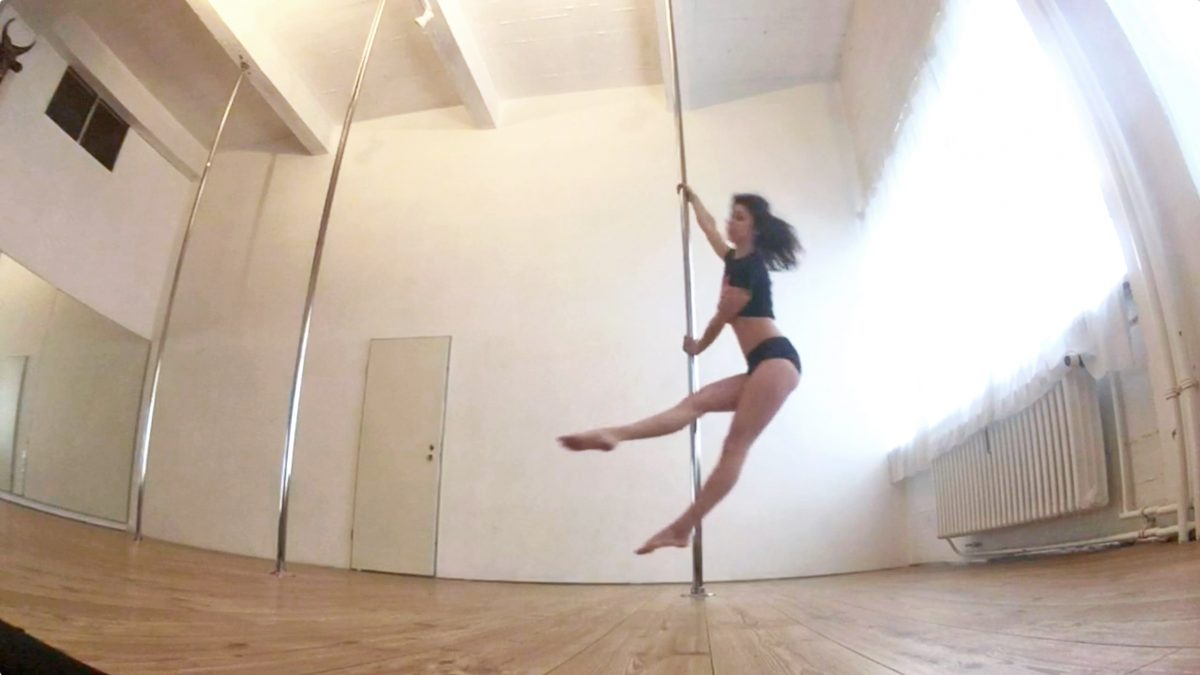 How to turn a single pole move into a whole pole dance routine?