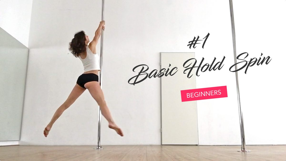 beginners pole dance spin