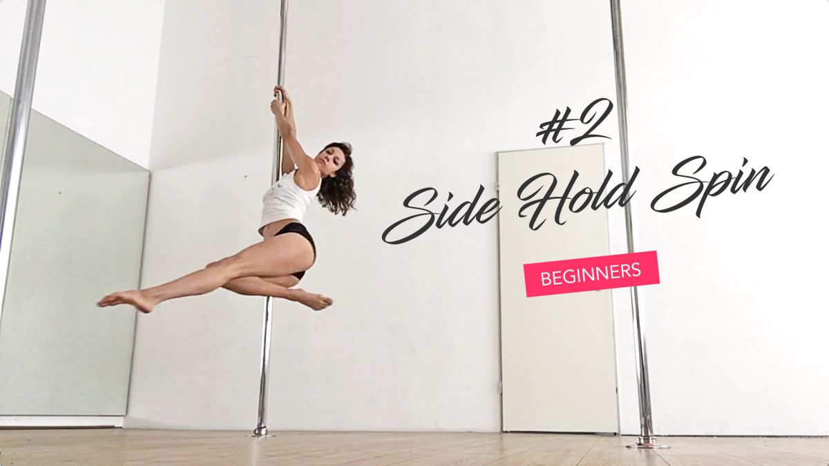 The easiest way to create shapes on the spinning pole (Side Hold Spin tutorial)