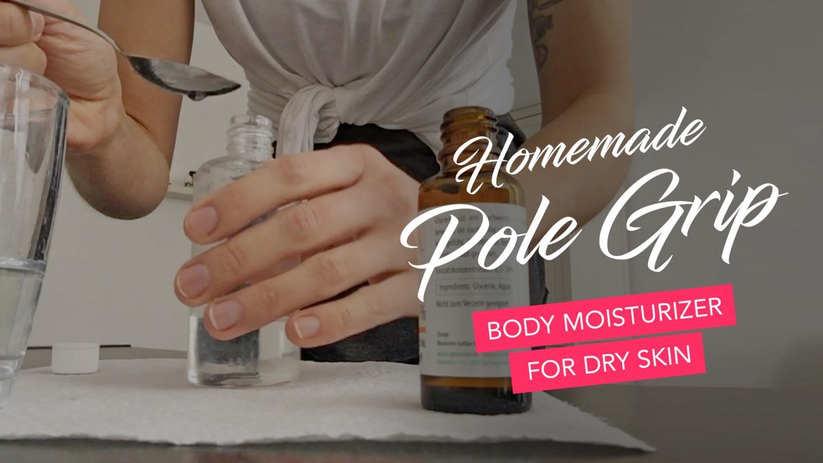 Sliding off the pole due to dry skin? This homemade Pole Grip helps 100%.
