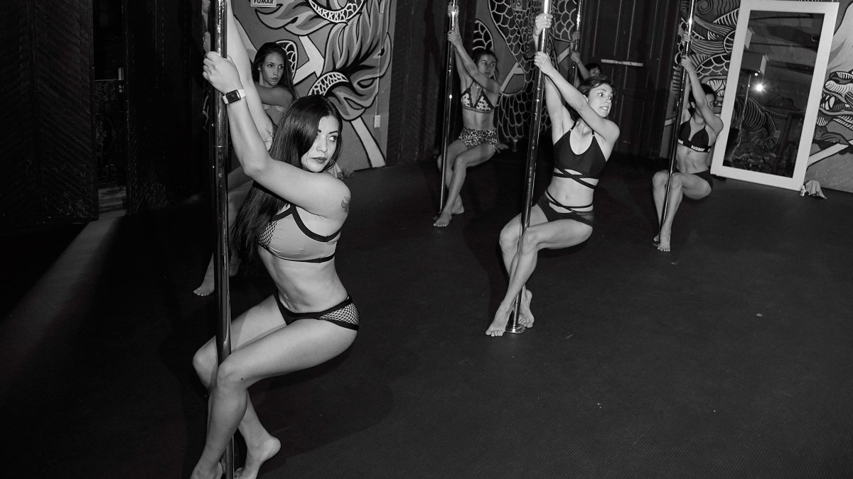 Pole dance workshops in Mexico City