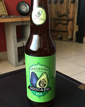 Avocado beer Michoacan, Mexico