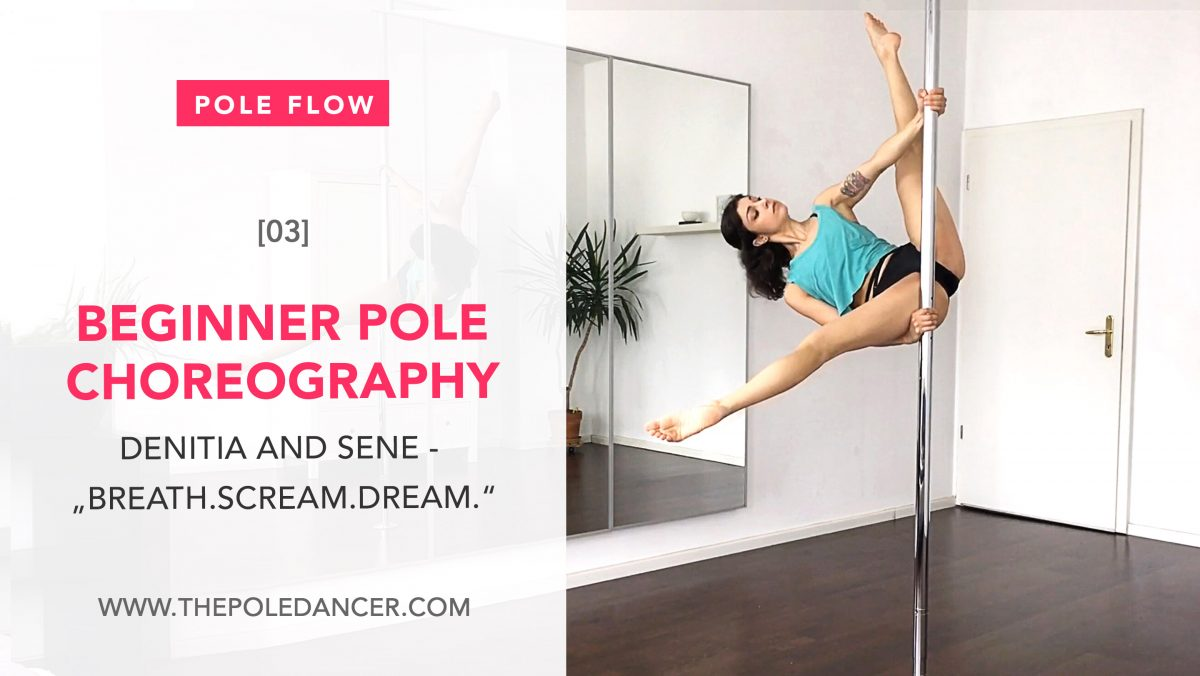 Beginner Pole Dance Choreography 3